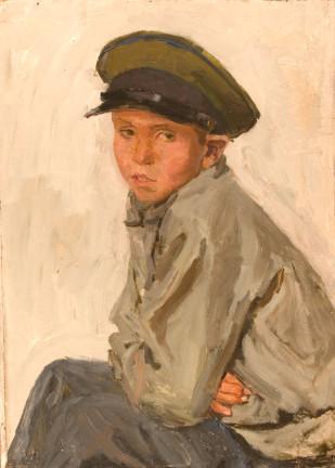 Schoolboy Vova Feoktistov - Arkadi Alexandrovich Plastov