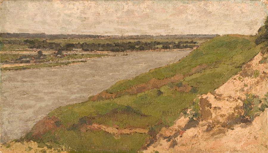 On the River Oke - Petr Ivanovich Petrovichev