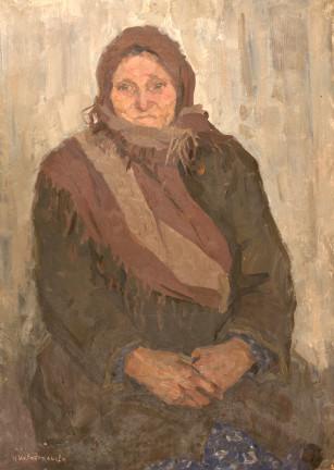 Portrait of Grandmother - Irina Vasilevna Shevandronova
