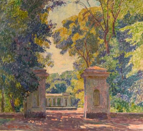 landscape painting by Vyacheslav Zabelin